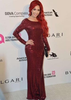 Farrah Abraham - 2018 Elton John AIDS Foundation's Oscar Viewing Party in West Hollywood