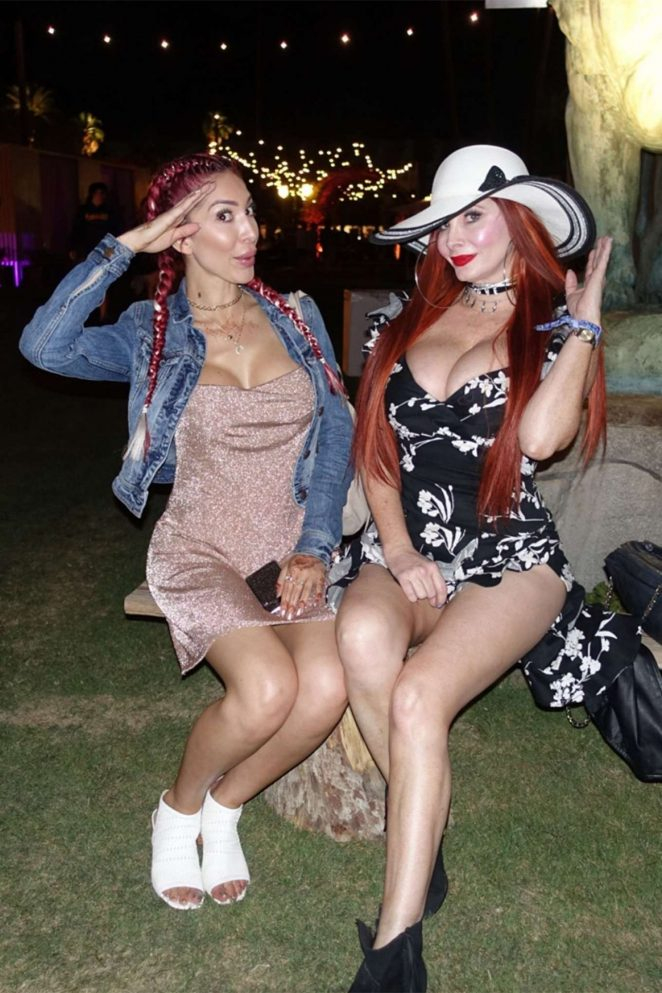 Farrah Abraham and Phoebe Price – Coachella Valley Music and Arts Festival 2018 in Indio