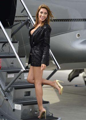 Farrah Abraham - Arrives to Van Nuys
