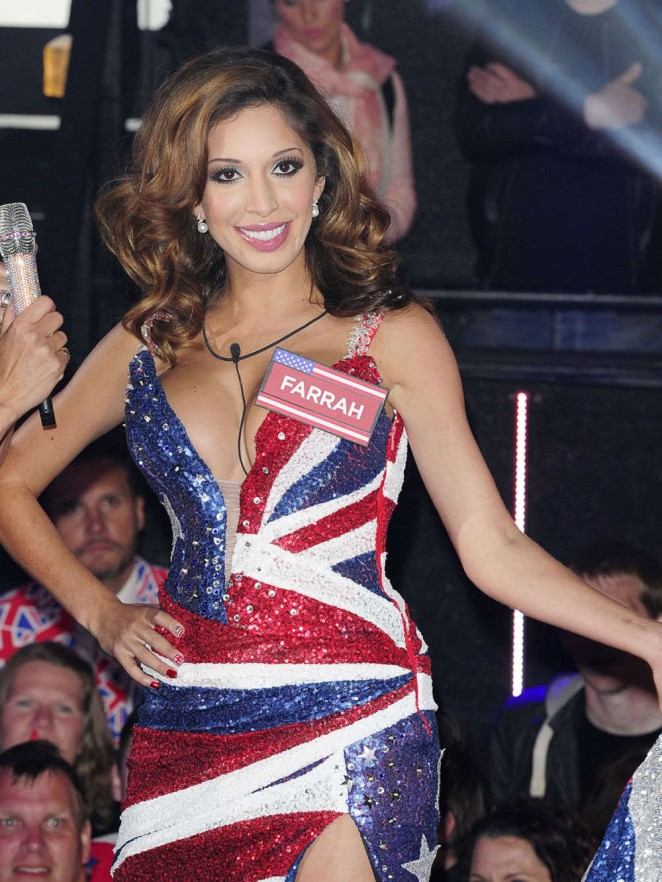 Farrah Abraham at the Celebrity Big Brother House in London