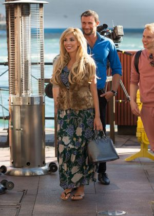 Farrah Abraham Filming her upcoming MTV reality series in Sydney