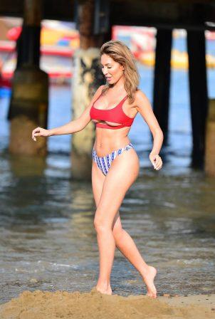 Farrah Abraham in a swimsuit - Catalina Island