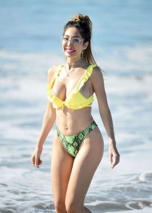 Farrah Abraham in Bikini at Malibu Beach