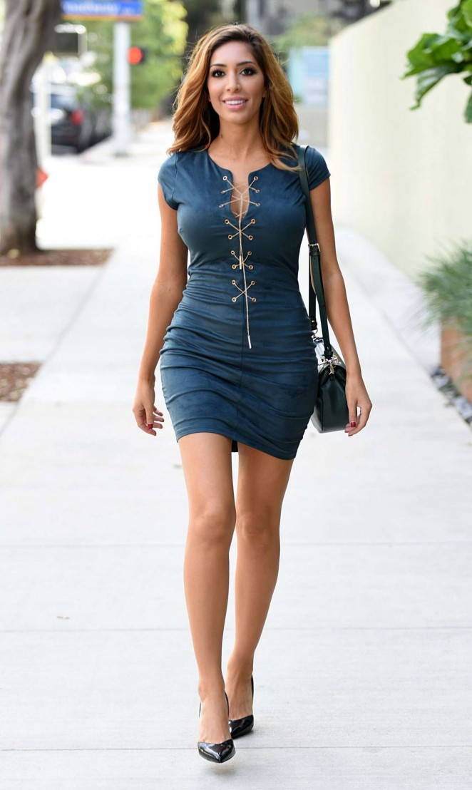 Farrah Abraham In Mini Dress 10 Gotceleb