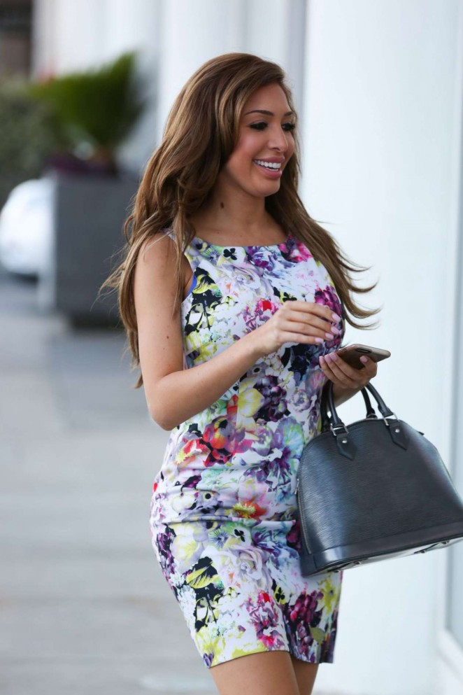 Farrah Abraham in Short Dress -07