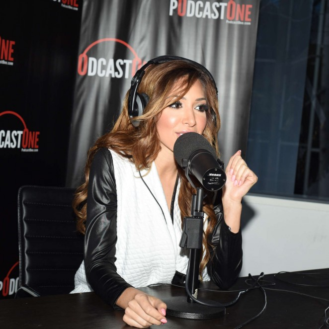 Farrah Abraham - Interviews Nik Ritchie on PodcastOne in Los Angeles