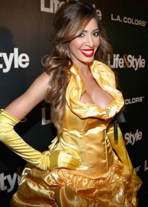 Farrah Abraham - Life & Style Weekly's 'Eye Candy' Halloween Bash in LA