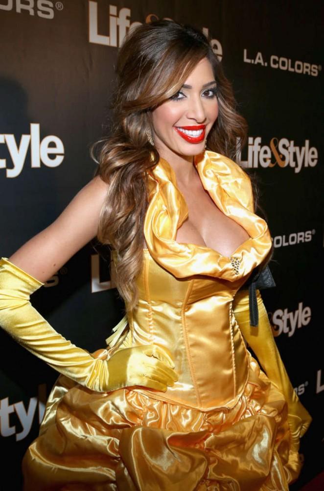 Farrah Abraham – Life & Style Weekly's 'Eye Candy' Halloween Bash in LA