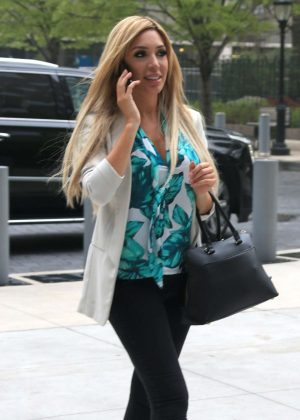 Farrah Abraham out in NYC