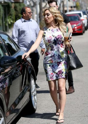 Farrah Abraham out Shopping in Beverly Hills