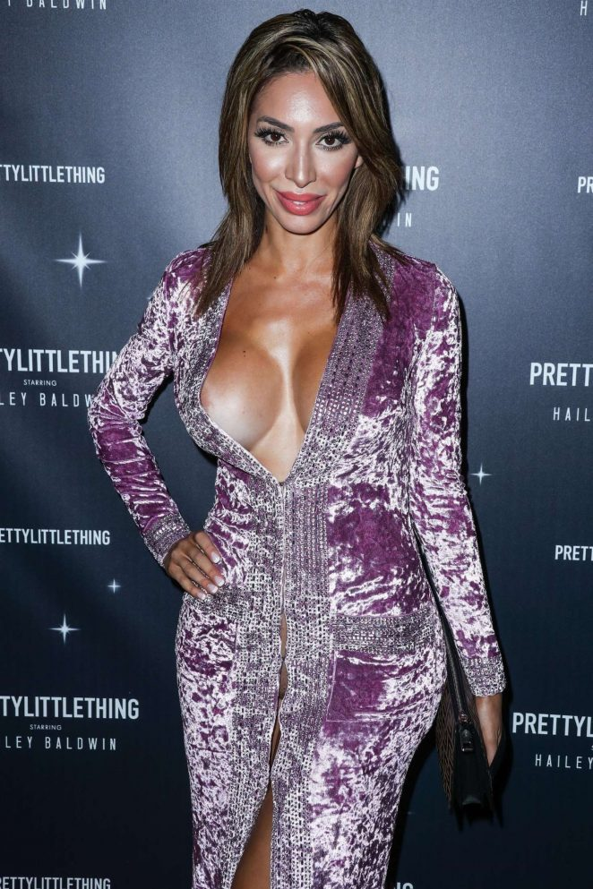 Farrah Abraham - PrettyLittleThing x Hailey Baldwin Launch Event in LA