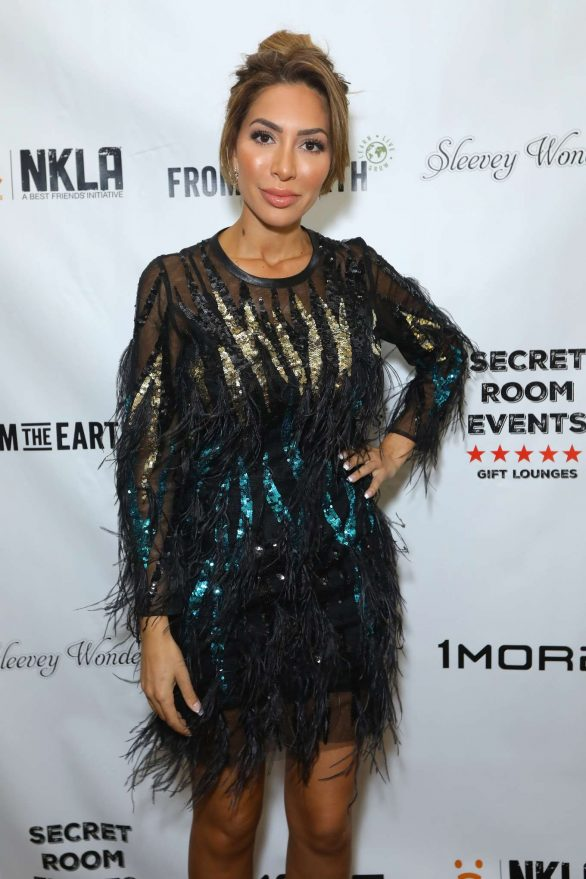 Farrah Abraham - Secret Room Events held at the InterContinental in Los Angeles