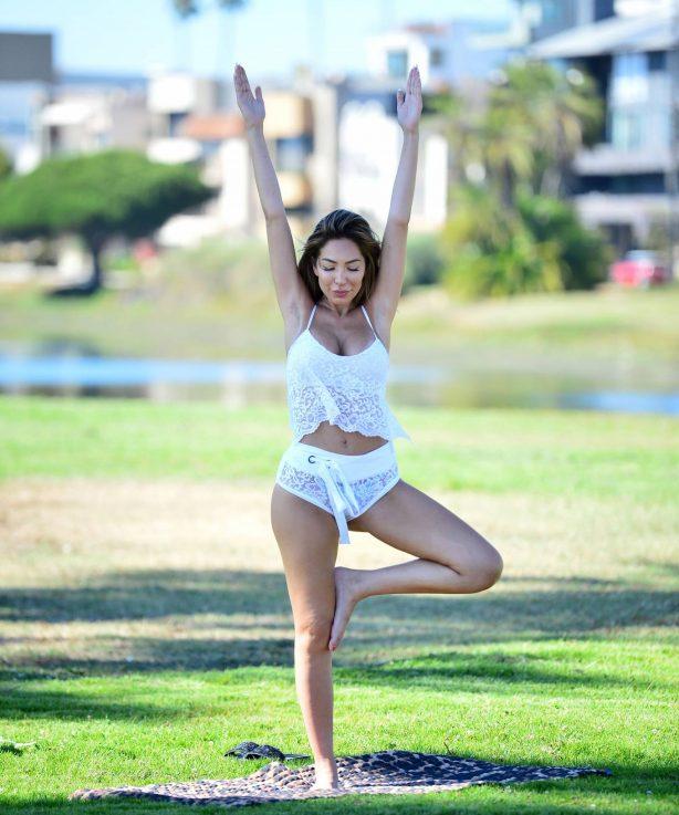 Farrah Abraham - Workout in Santa Monica