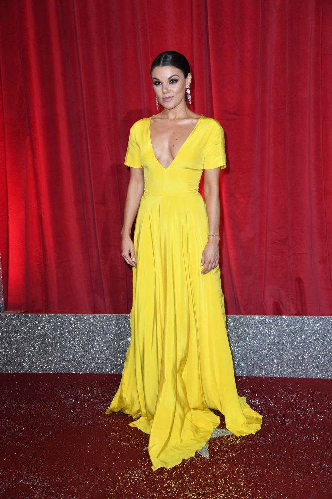Faye Brookes - British Soap Awards 2017 in Manchester