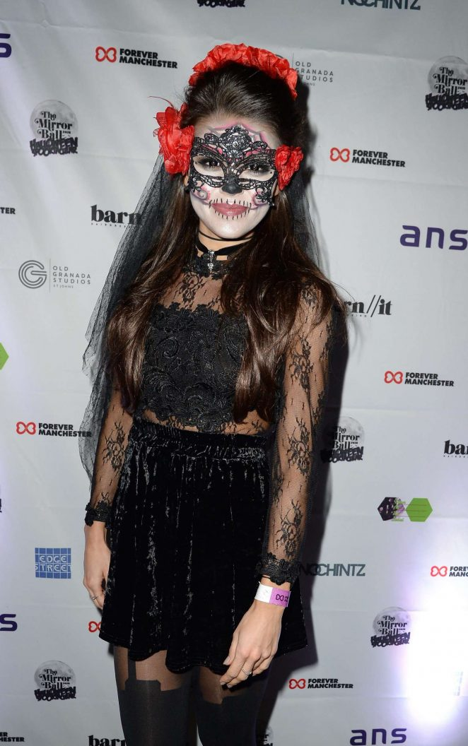 Faye Brookes - Halloween Spooktacular Ball in Manchester