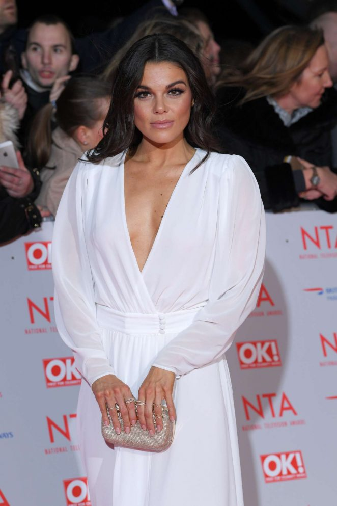 Faye Brookes - National Television Awards 2018 in London