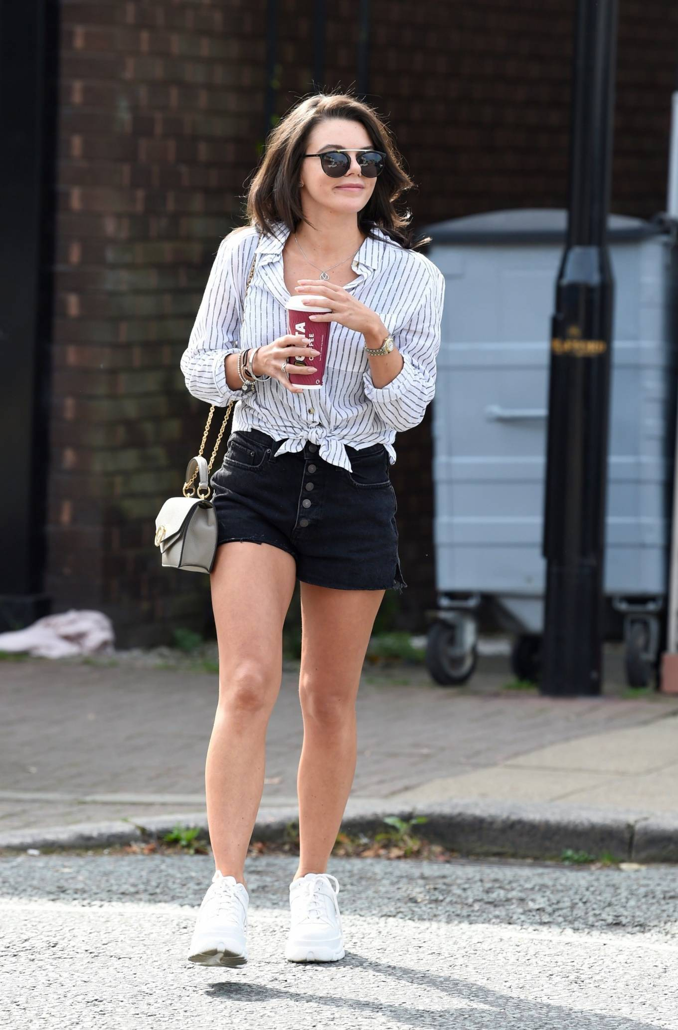 Faye Brookes - Out for a stroll at Terrence Paul in Cheshire