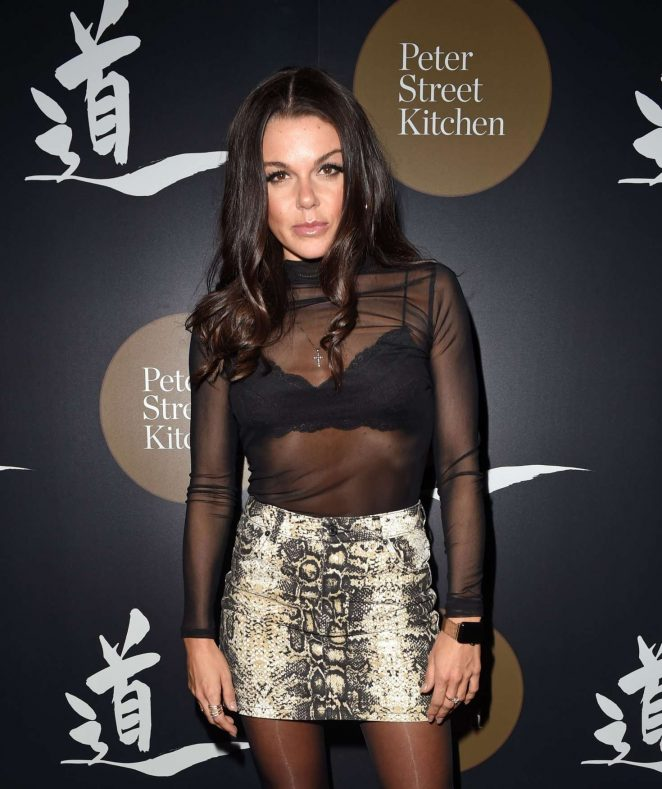 Faye Brookes – Peter Street Kitchen Launch in Manchester