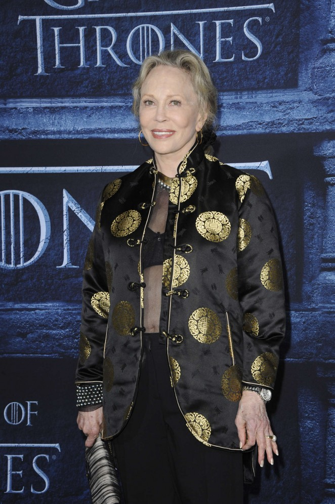 Faye Dunaway - 'Game of Thrones' Season 6 Premiere in Hollywood