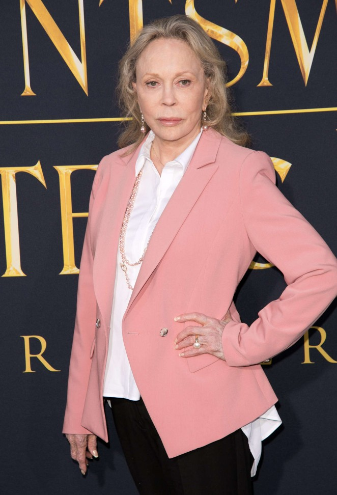 Faye Dunaway - 'The Huntsman: Winter's War' Premiere in Westwood