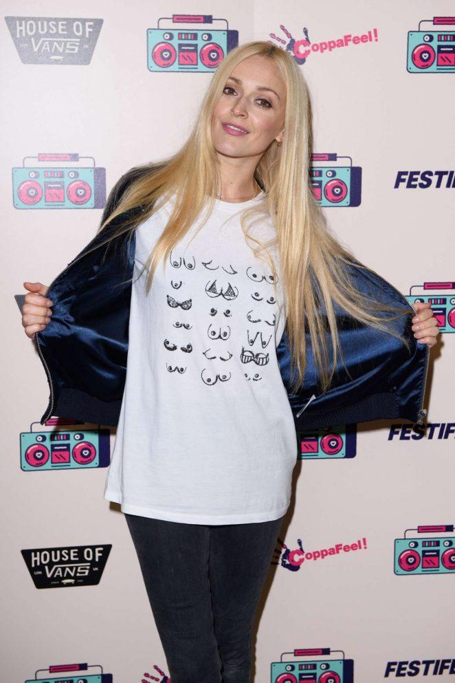 Fearne Cotton - Coppafeel Charity's Festifeel in London