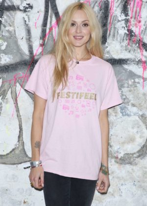 Fearne Cotton - Coppafeel Festifeel House Of Vans in London