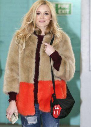 Fearne Cotton Leaving the ITV studios in London