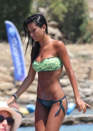 Federica Nargi Hot in Bikini in Mykonos