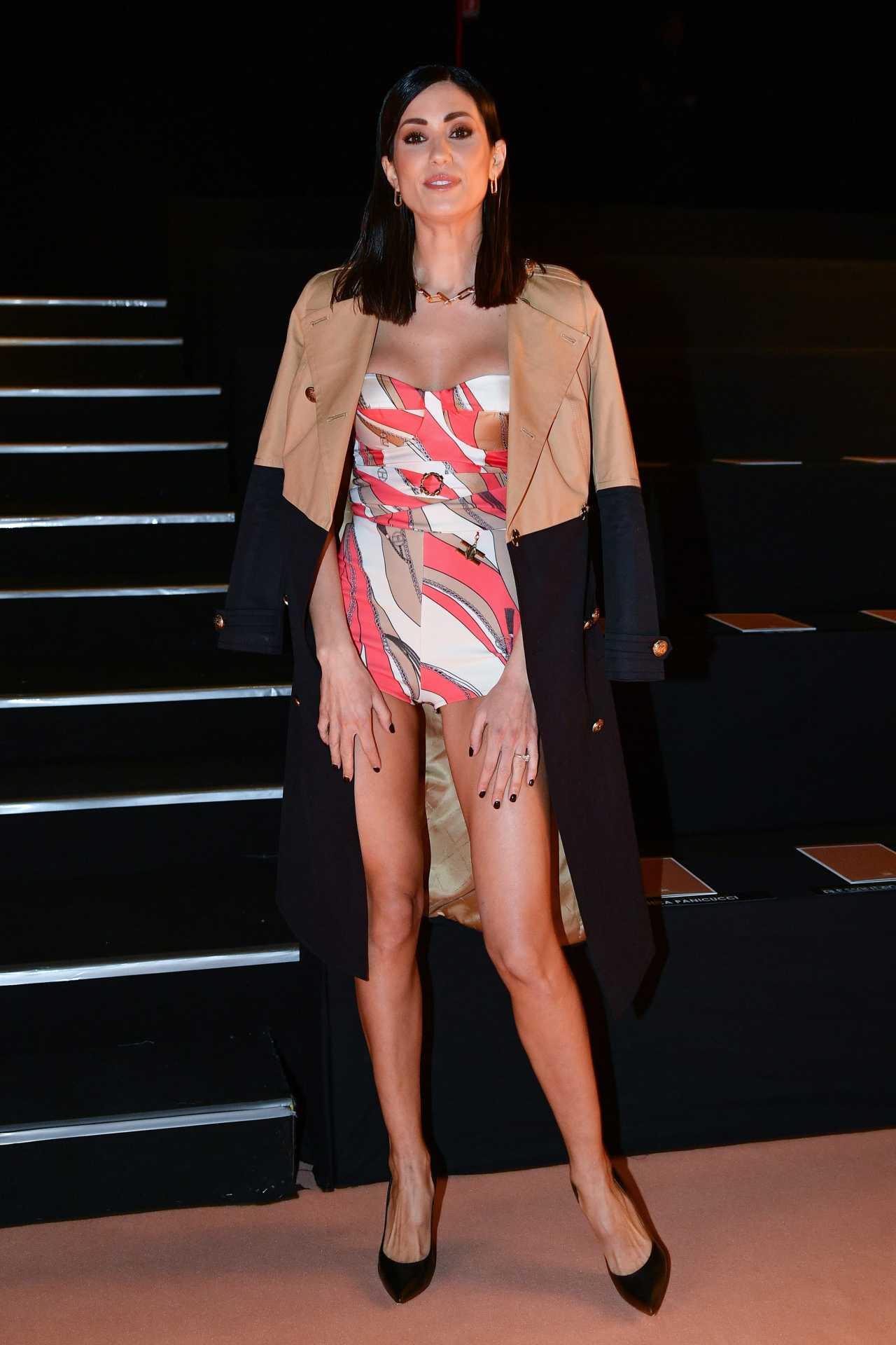 Federica Nargi - Looking stylish at Milan Fashion Week 2020