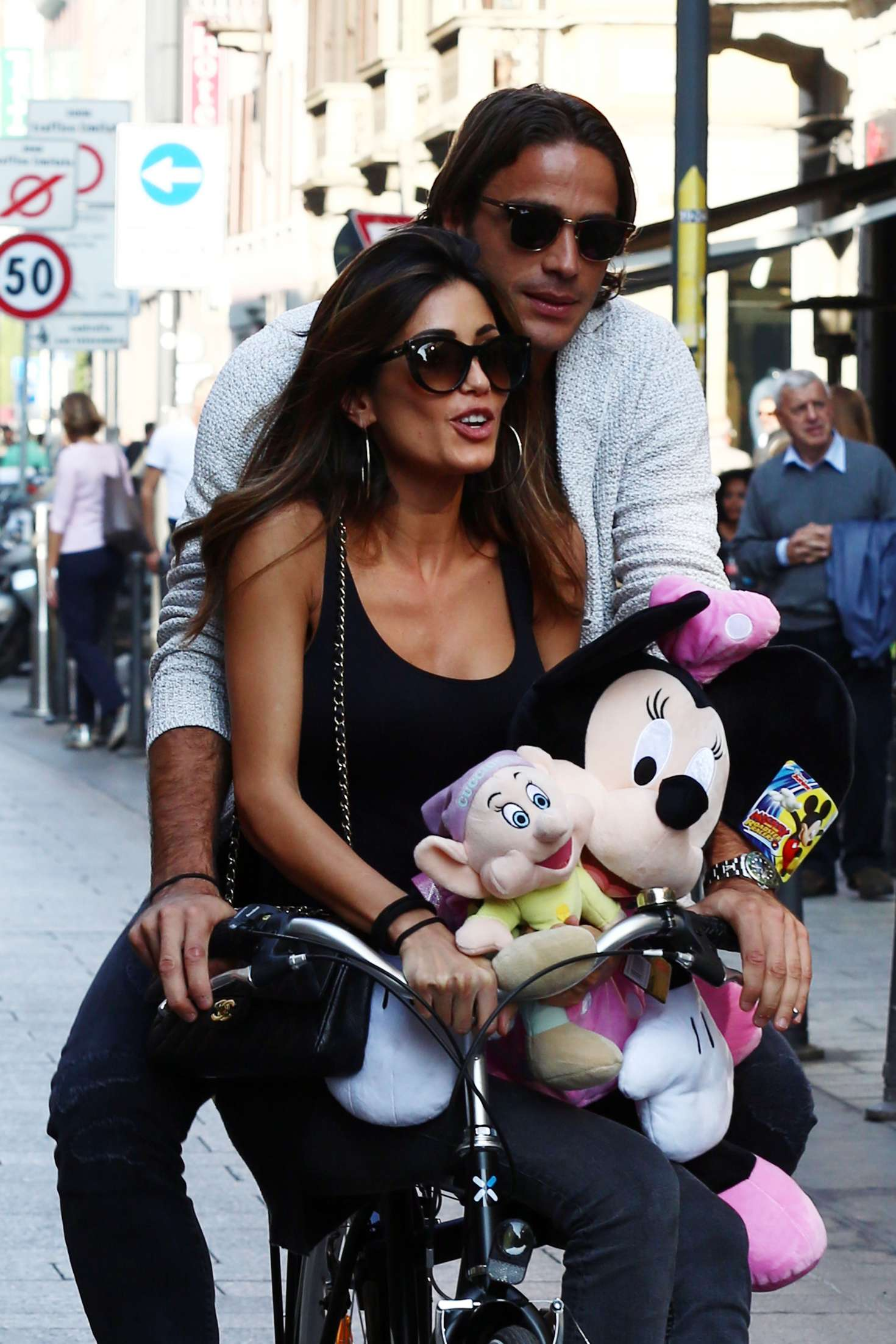 Federica Nargi out in Milan