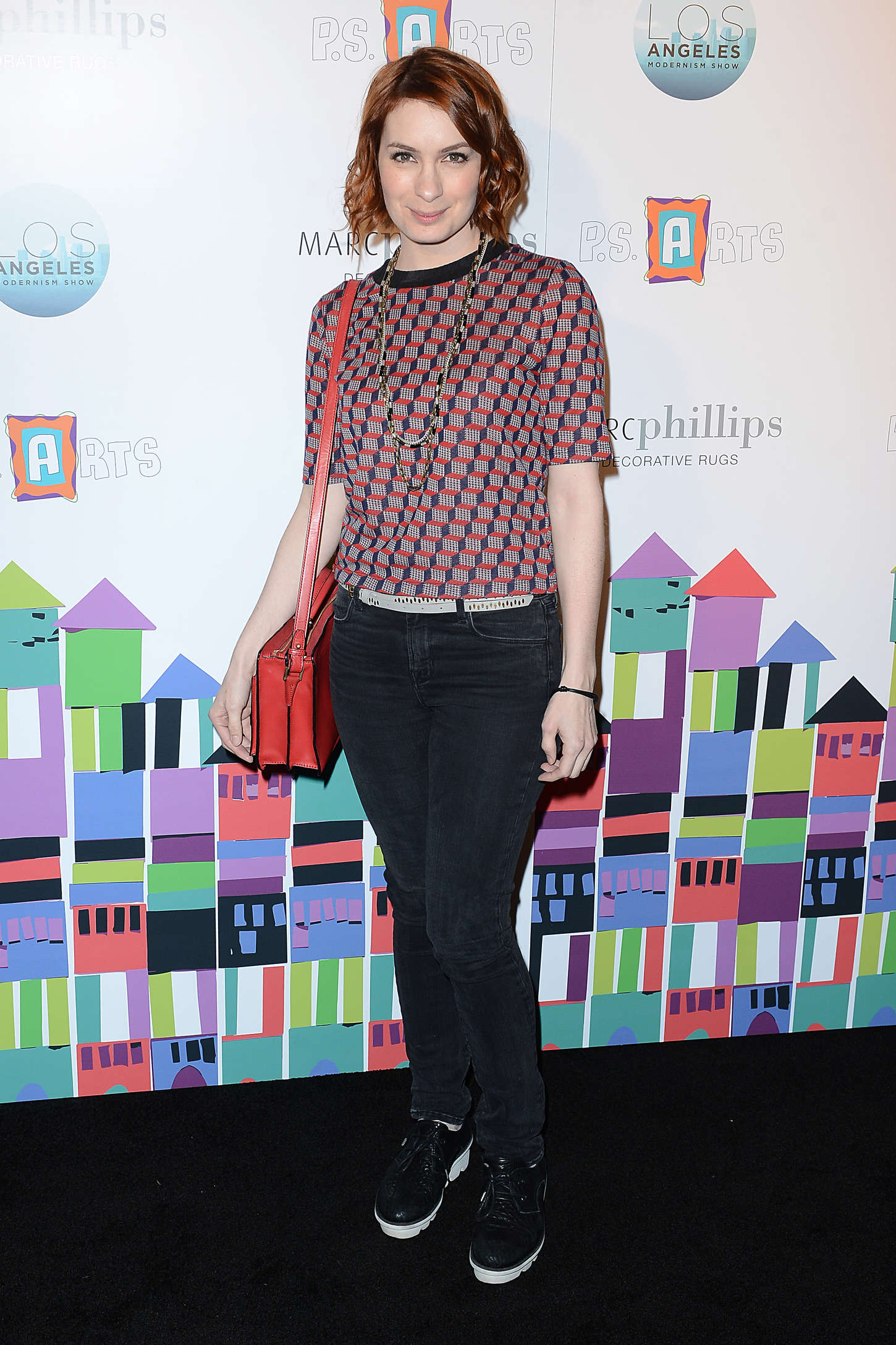 Felicia Day - PS ARTS Presents LA Modernism Opening Night Party in Culver City