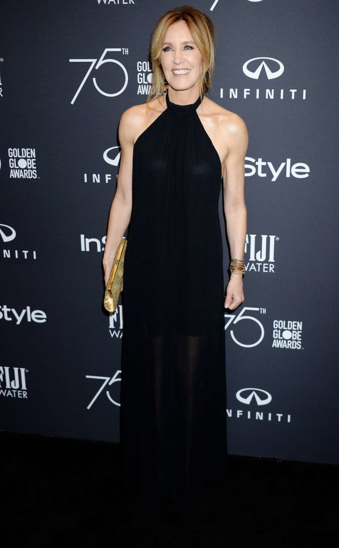 Felicity Huffman - 2017 HFPA and InStyle Golden Globe Season in LA