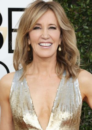 Felicity Huffman - 74th Annual Golden Globe Awards in Beverly Hills