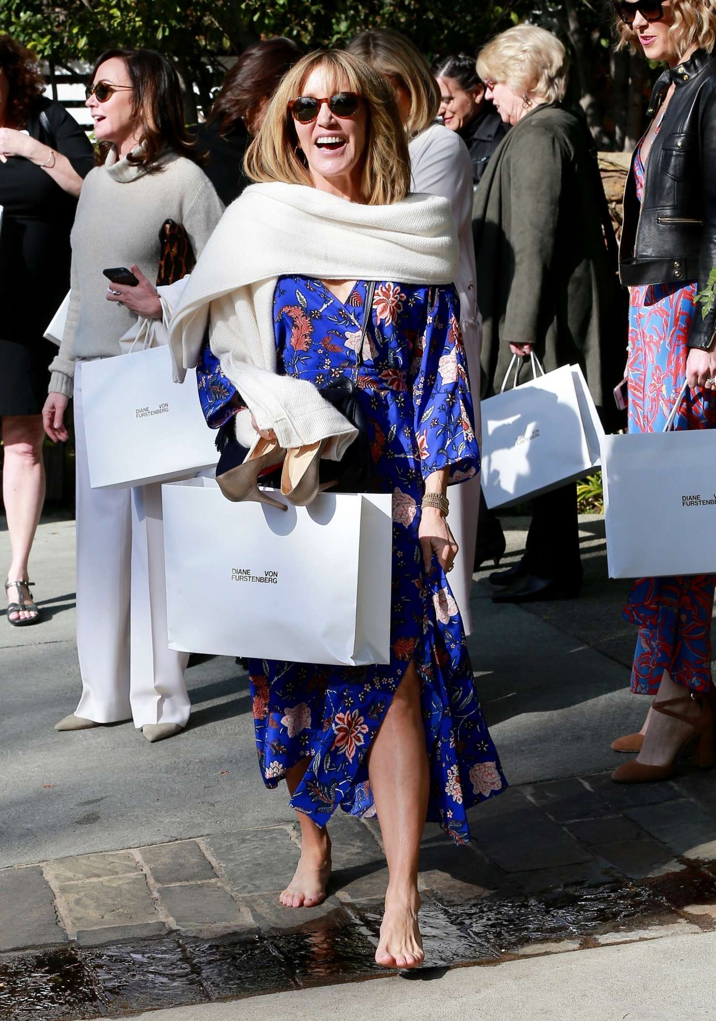 Felicity Huffman - Attends a Pre-Oscars Event in Beverly Hills