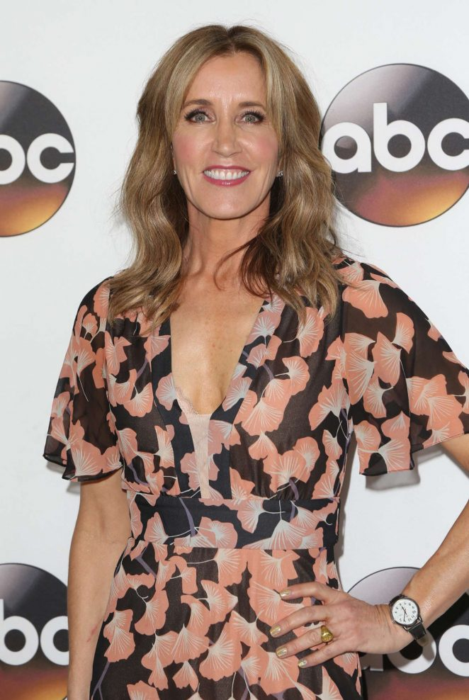 Felicity Huffman - Disney ABC Television Group TCA Winter Press Tour 2017 in Pasadena
