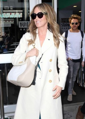 Felicity Huffman out in New York City