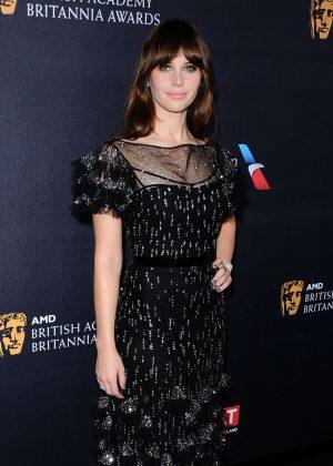 Felicity Jones - 2016 AMD British Academy Britannia Awards in Beverly Hills