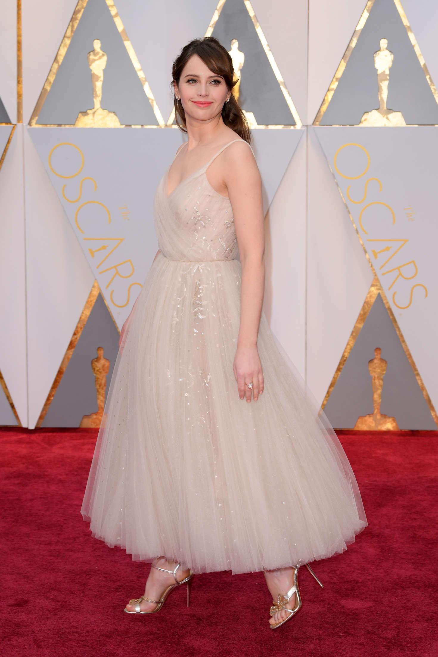Felicity Jones - 2017 Academy Awards in Hollywood