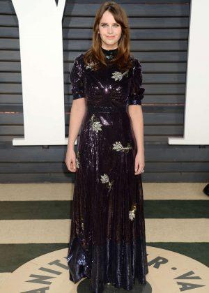 Felicity Jones - 2017 Vanity Fair Oscar Party in Hollywood