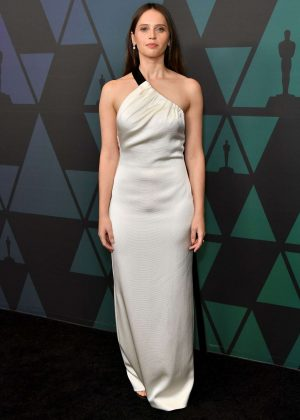 Felicity Jones - 2018 Governors Awards in Hollywood