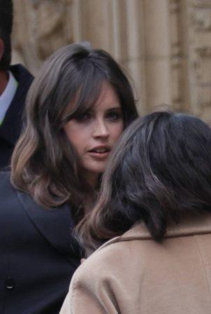 Felicity Jones - 2021 British Academy Film Awards in London