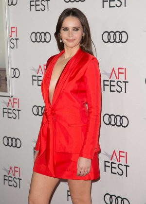 Felicity Jones - AFI Fest 2018 'On the Basis of Sex' Opening Night Premiere in LA