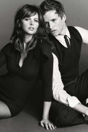 Felicity Jones and Eddie Redmayne - British Vogue Magazine (November 2019)