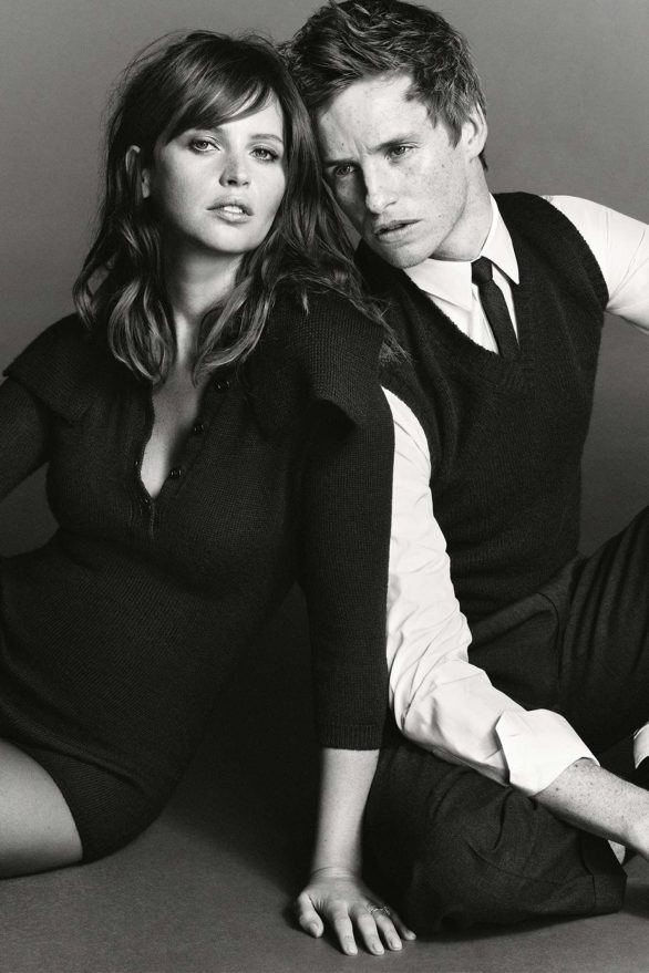 Felicity Jones and Eddie Redmayne - British Vogue Magazine (November 2019)