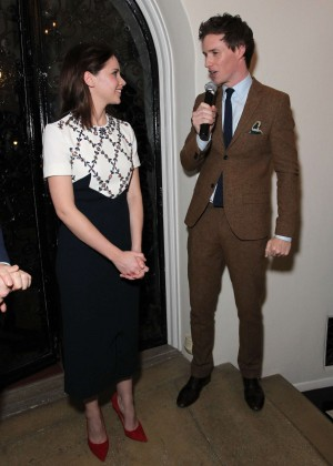 Felicity Jones - British Consulate-General Focus Features' Reception in Los Angeles