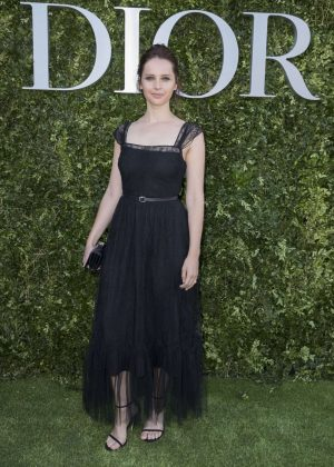 Felicity Jones - Christian Dior Photocall FW 2017 in Paris
