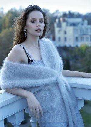 Felicity Jones - Dujour Magazine (November 2018) adds