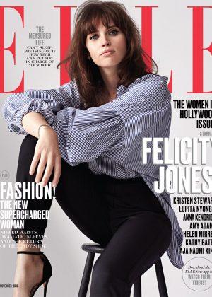 Felicity Jones - ELLE US Cover (November 2016)