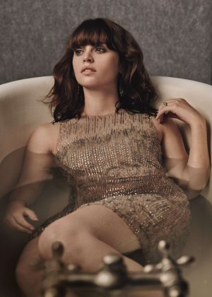 Felicity Jones for W Magazine (February 2017)