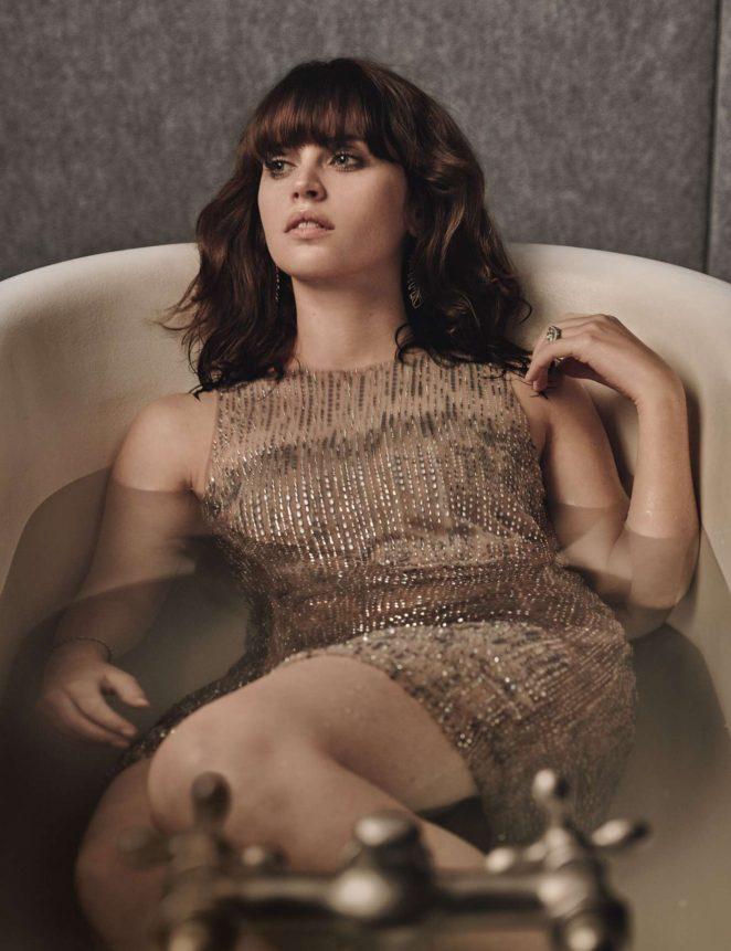 Felicity Jones for W Magazine (February 2017)